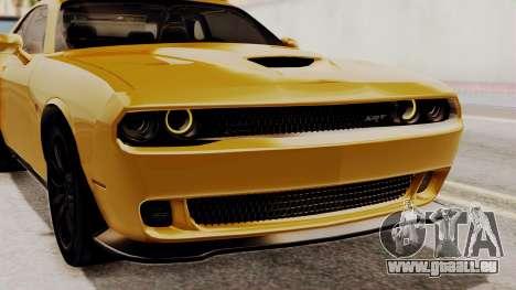 Dodge Challenger SRT Hellcat 2015 IVF PJ pour GTA San Andreas vue de côté