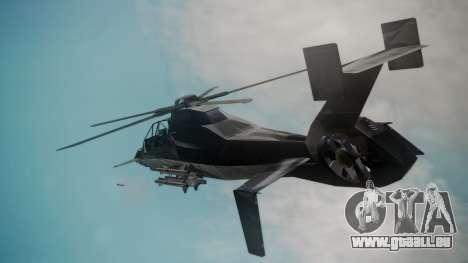 VAH-318 für GTA San Andreas zurück linke Ansicht