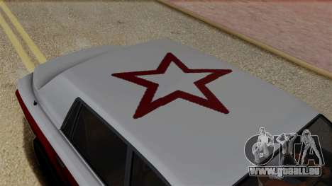 Morningstar Justice (Super Diamond) from SR3 pour GTA San Andreas vue arrière