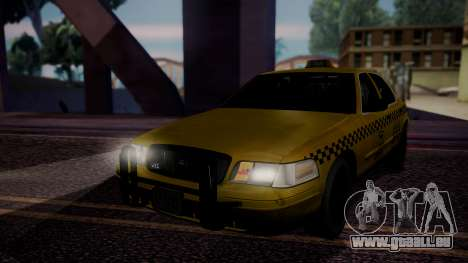 Raccoon City Taxi from Resident Evil ORC für GTA San Andreas