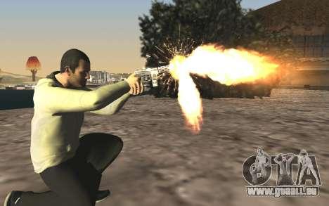 GTA 5 Tec-9 pour GTA San Andreas sixième écran