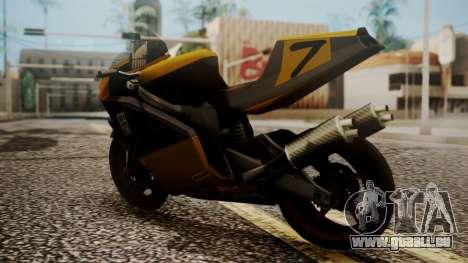 NRG-500 Number 7 Mod für GTA San Andreas linke Ansicht