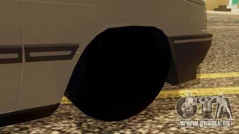 Renault 11 Perfil Bajo pour GTA San Andreas sur la vue arrière gauche