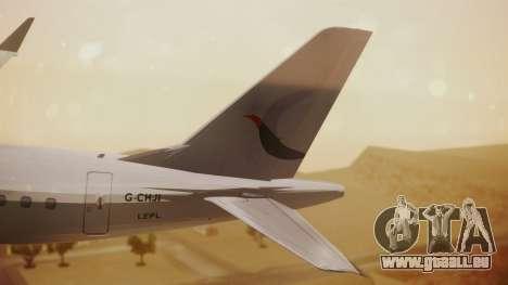 Embraer 170-100 Air Costa für GTA San Andreas zurück linke Ansicht