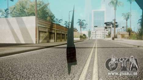 Glass Shard pour GTA San Andreas deuxième écran