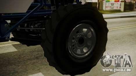 GTA 5 Vapid The Liberator für GTA San Andreas zurück linke Ansicht