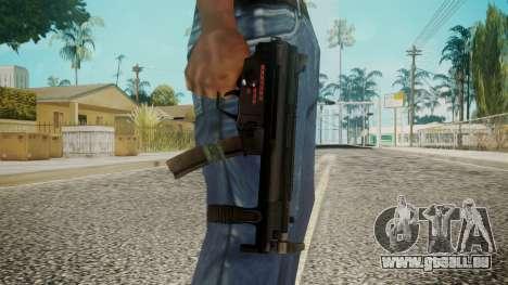 MP5 by EmiKiller pour GTA San Andreas troisième écran