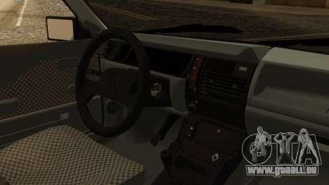 Renault 11 Perfil Bajo pour GTA San Andreas vue de droite