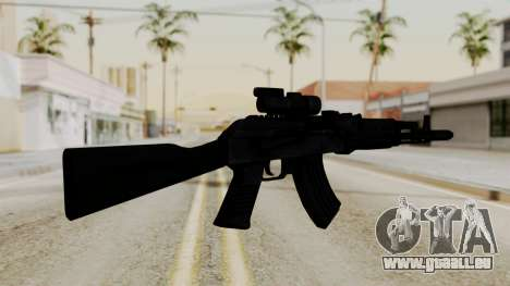 AK-103 with Rifle Dot Aimpoint M2 für GTA San Andreas zweiten Screenshot