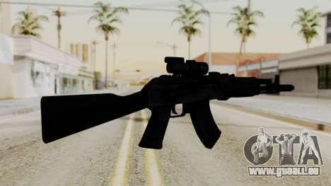 AK-103 with Rifle Dot Aimpoint M2 für GTA San Andreas zweiten Screenshot