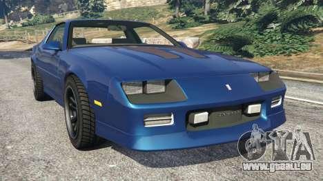 Chevrolet Camaro IROC-Z [Beta 2] pour GTA 5