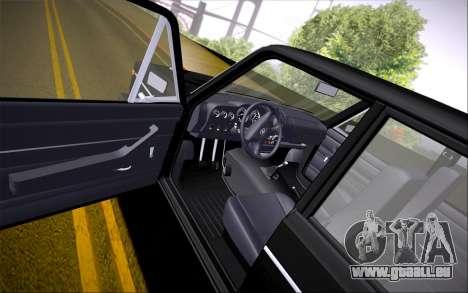 VAZ 2106 für GTA San Andreas Rückansicht