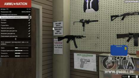 GTA 5 MW3 MP5 zweite Screenshot