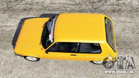 GTA 5 Talbot Samba Rückansicht