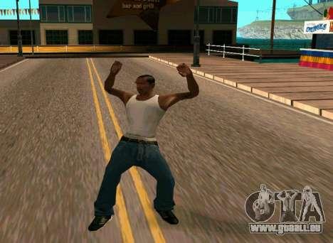 50 Animations v1.0 pour GTA San Andreas troisième écran