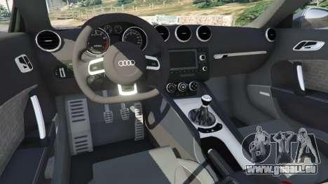 GTA 5 Audi TT RS 2013 droite vue latérale