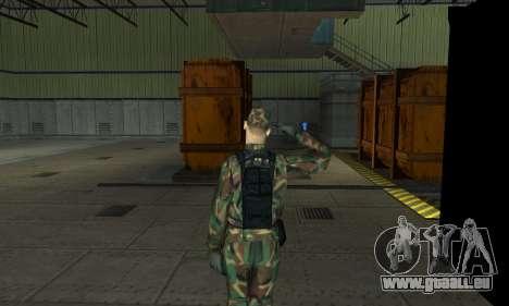 Militaire de salut pour GTA San Andreas