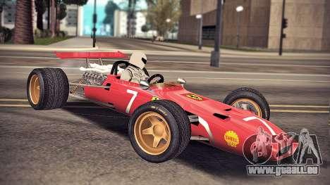 Ferrari 312 F1 für GTA San Andreas