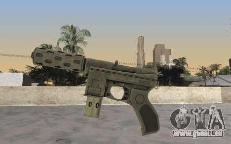 GTA 5 Tec-9 pour GTA San Andreas deuxième écran