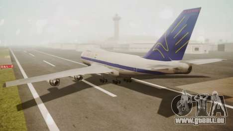 Boeing 747SP ER Airways für GTA San Andreas linke Ansicht
