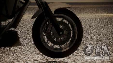 GTA 5 Dinka Thrust pour GTA San Andreas sur la vue arrière gauche