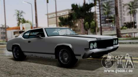 Sabre Turbo from Vice City Stories pour GTA San Andreas