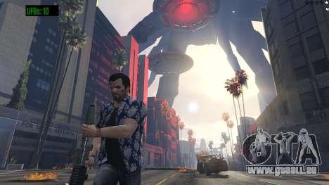 GTA 5 UFO Invasion 1.0.1 neunter Screenshot