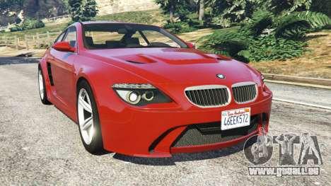 BMW M6 (E63) für GTA 5