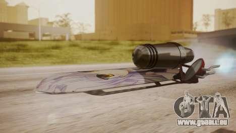 Hovercraft Anime pour GTA San Andreas