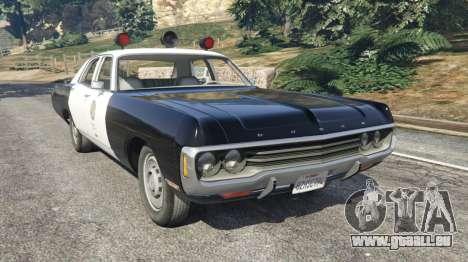Dodge Polara 1971 Police v4.0 pour GTA 5