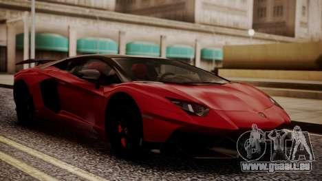 Lamborghini Aventador MV.1 für GTA San Andreas