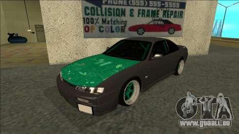 Nissan 200sx Drift für GTA San Andreas