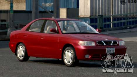 Daewoo Nubira I Sedan SX USA 1999 für GTA 4