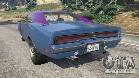 GTA 5 Dodge Charger RT 1970 v3.0 linke Seitenansicht