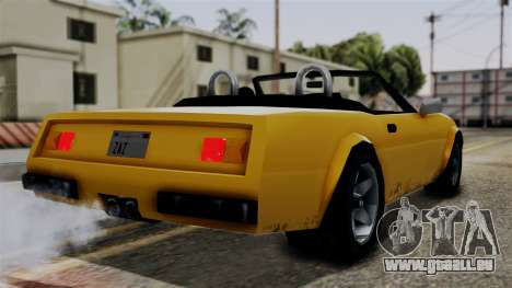 Stinger from Vice City Stories für GTA San Andreas linke Ansicht