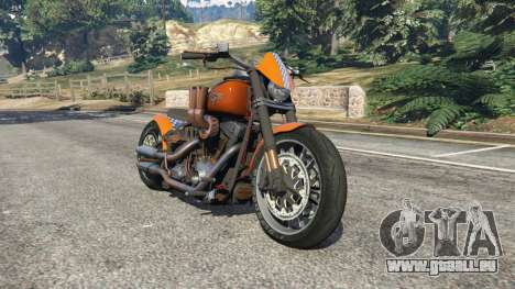 Harley-Davidson Fat Boy Lo Racing Bobber v1.2 pour GTA 5