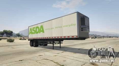 Real Brand Truck Trailers für GTA 5