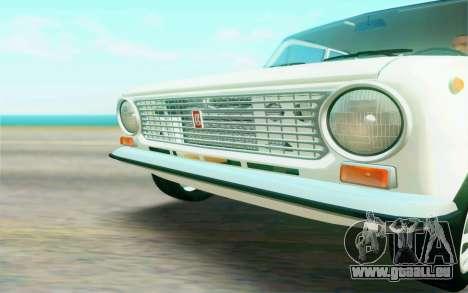 VAZ 2101 Stock pour GTA San Andreas vue intérieure