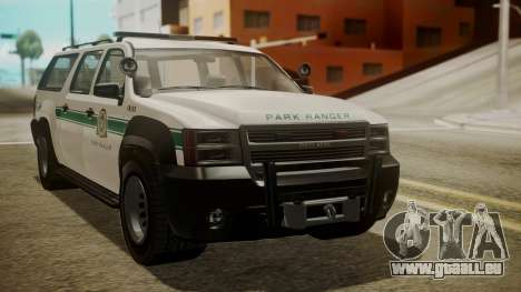 GTA 5 Declasse Granger Park Ranger IVF für GTA San Andreas