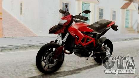 Ducati Hypermotard pour GTA San Andreas