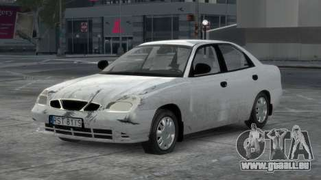 Daewoo Nubira II Sedan S PL 2000 pour GTA 4 Salon