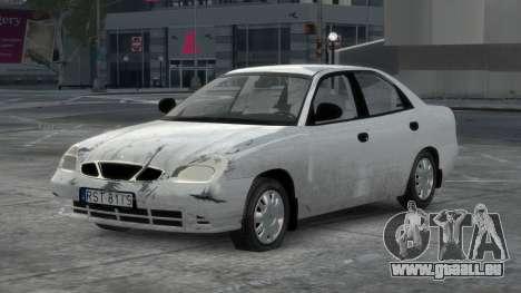 Daewoo Nubira II Sedan S PL 2000 pour GTA 4 Salon