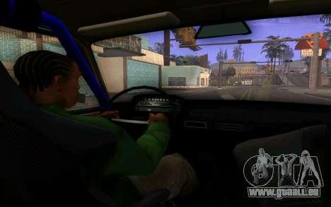 VAZ 2101 Voiture pour GTA San Andreas vue intérieure