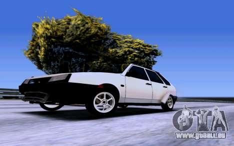 VAZ 2109 Turbo pour GTA San Andreas vue de droite