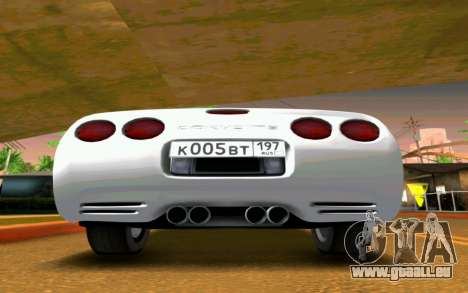 Chevrolet Corvette C5 2003 für GTA San Andreas rechten Ansicht