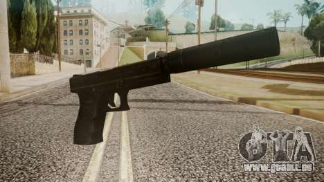 Silenced Pistol by catfromnesbox pour GTA San Andreas