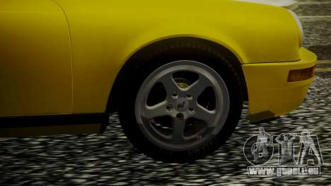 RUF CTR Yellowbird 1987 für GTA San Andreas zurück linke Ansicht