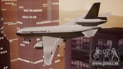 DC-10-30 British Caledonian Charter für GTA San Andreas linke Ansicht