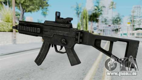 MP5 from RE6 für GTA San Andreas zweiten Screenshot