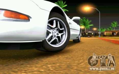 Chevrolet Corvette C5 2003 für GTA San Andreas Innen